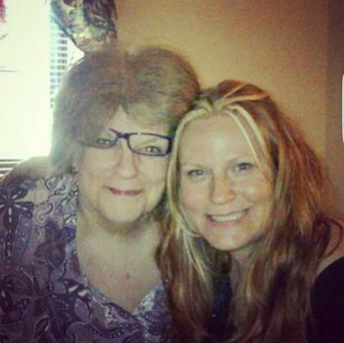 Mom is with her daughter, my sister, Dawn, in Heaven together.